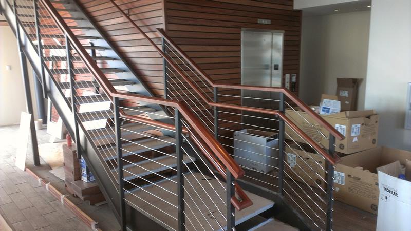 Stairway, David's Restaurant Kennebunkport